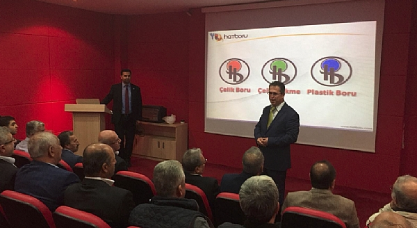 All the Presidents of Hatay Tradesmen and Craftsmen Chambers, visit our company!